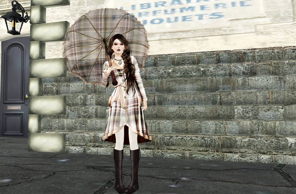 waiting in the rain